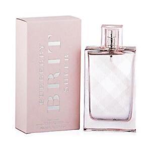 Brit Sheer By Burberry 3.3 / 3.4 Oz EDT Spray NIB Sealed Perfume For Women