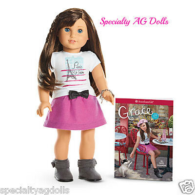 "American Girl GRACE THOMAS Doll of the Year Bracelet and Book NEW 18"" on Rummage"