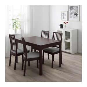 Extendable dining table from IKEA (chairs are not included)