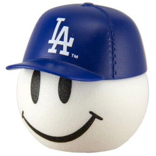 LA Dodgers Baseball Cap Head Car Antenna Ball / Desktop Bobble Buddy