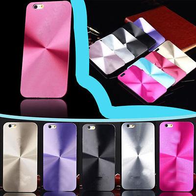 Design Cd Case Cover (Metal Aluminum  Hard For iPhone 6 & 6s CD Design Back Case Cover + LOGO )
