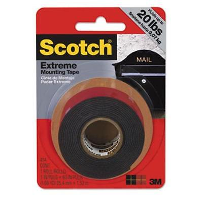 3m 414p Extreme Mounting Tape 1 X 60 Black
