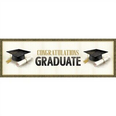 Classic Graduation Congratulations Giant Banner Graduation Party - Congratulations Graduation Banner