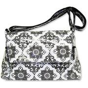 Black and White Diaper Bag
