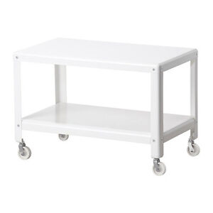 IKEA PS 2012 Coffee table, white Metal very solid Top Condition