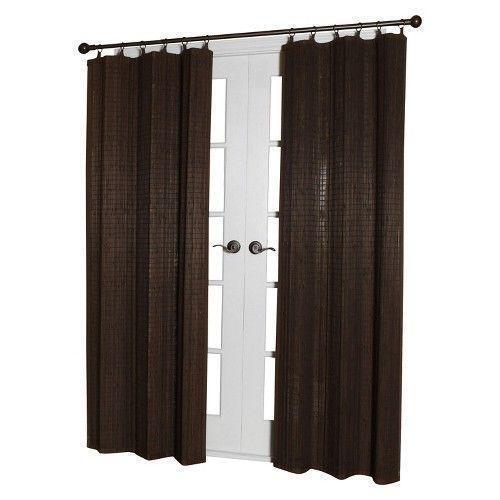 Bamboo Glass Panels : Bamboo window panels ebay