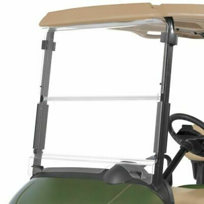 For EZGO RXV Clear Windshield 2008-UP Folding Style Golf Cart Part New
