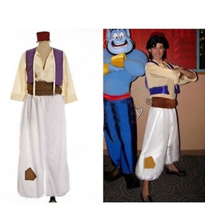 US! Men's Halloween Party Aladdin and His Wonderful Lamp Prince Cosplay Costume - Aladdin Costumes For Men