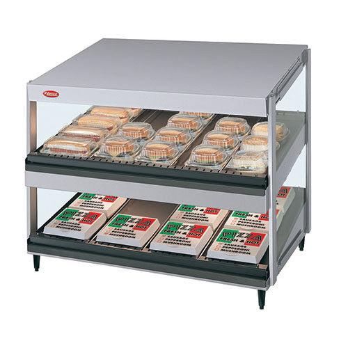 "Hot Food Display Case - Slant 36"" Width"