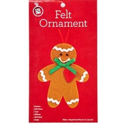 Christmas Ornament Felt Craft Kit: Make Your Own