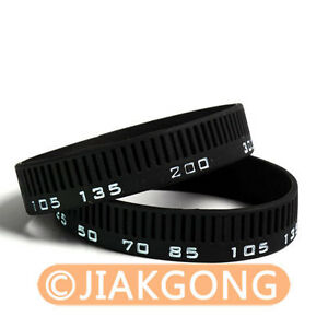 Photographer-silicone-bracelet-Focal-Length-style-Wristband