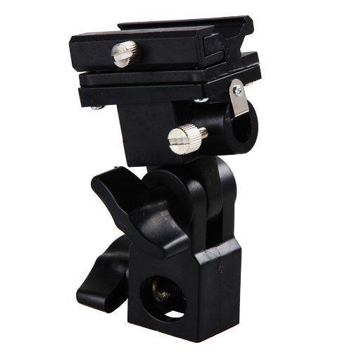Swivel Bracket Umbrella Holder f Flash,Speedlight,Nikon SB500,600,700,800,900