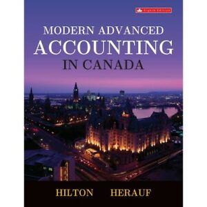Modern Advanced Accounting in Canada (Softcover)