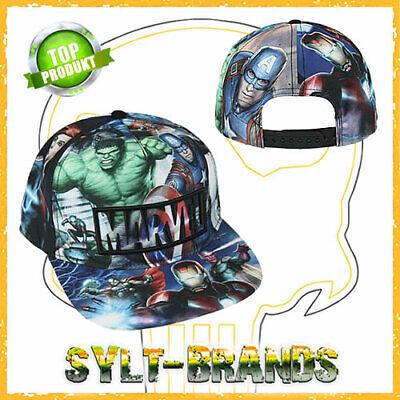 Marvel Logo Cap Avengers Caps Endgame Snapback Kappen - Marvel Hat
