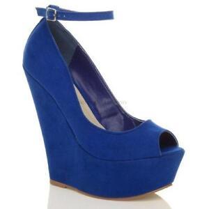 Ladies Royal Blue Shoes Size 6 b33c53acb4