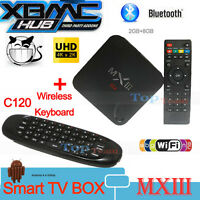 MX III XBMC Quad Core 2GB Android Smart TV Box + Air mouse