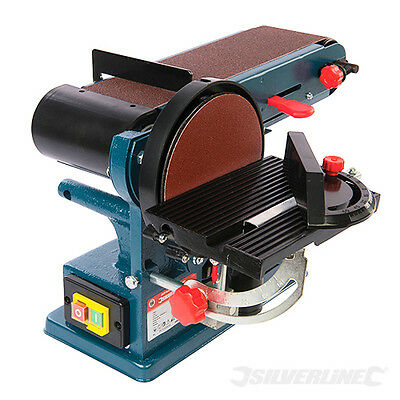 Silverline 350W Belt and Disc Sander 390mm DIY Power Wood Sanding Tool 972660