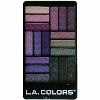 L.A. Colors 18 Color Eyeshadow Palette, Strange Love, 0.70 O
