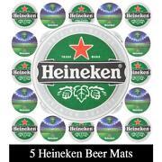 Bierdeckel Heineken