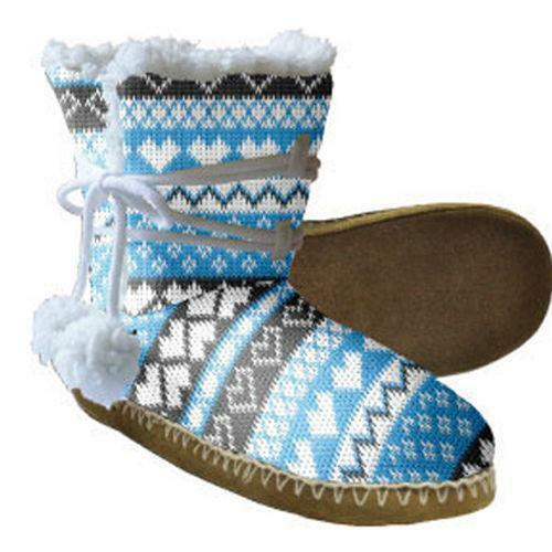 Snoozies Boot Slippers