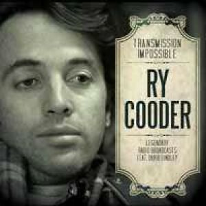 Ry Cooder Massey Hall Front Row Balcony X2 Seats