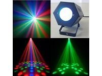 Music Active Moon Flower LED Stage Lighting Club Disco DJ Party Lights