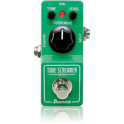 IBANEZ Tube Screamer Mini TS MINI Distortion NEW Guitar Effect Pedal