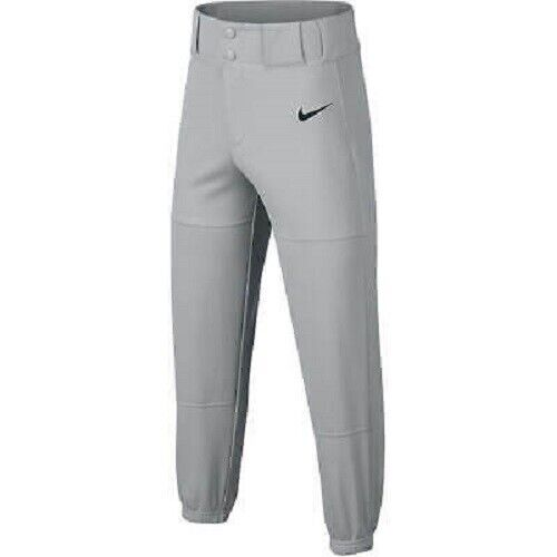 Nike NEW Boys Size Large Gray Core Baseball Pants aa9805-012