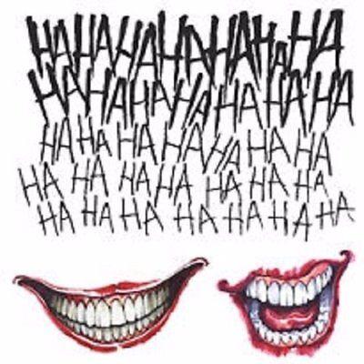 The Joker Tattoo Kit Suicide Squad Movie Temporary Costume Accessory (The Joker Tattoo)