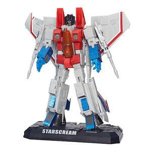 Transformers Masterpiece Star Scream by Hasbro.