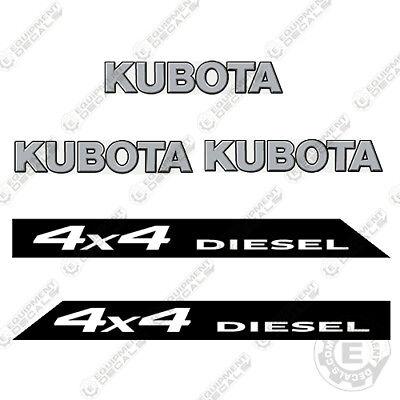 Kubota 4x4 Rtv 900 Xt Utility Vehicles Replacement Decals