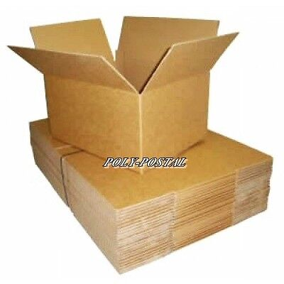 50  SINGLE Wall 7x5x5 Gift Cardboard Mailing Postal Perfume Boxes shipping small