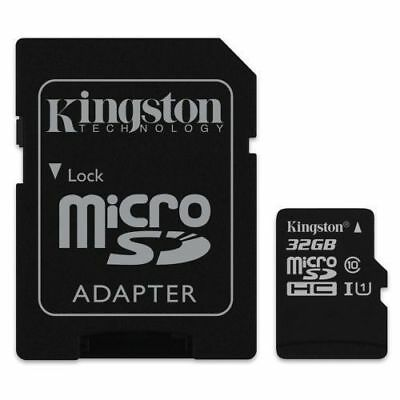 Micro SD HC 32 GB 32 GB Kingston Mikro SD UHS-I U1 C10 Flash Speicherkarte