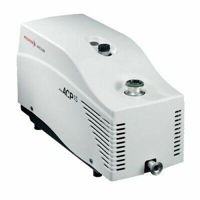 Alcatel Adixen Acp 15 Dry Vacuum Pump With Manual Gas Ballast