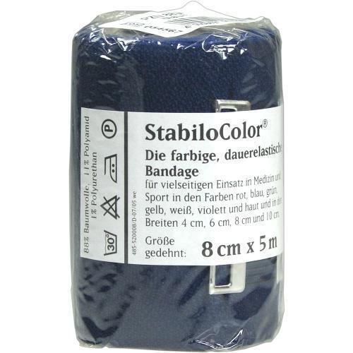 BORT StabiloColor Binde 8cm blau 1 St