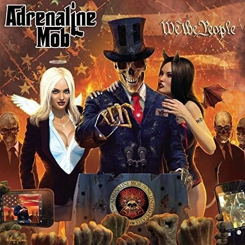 Adrenaline Mob - We The People [New CD] Digipack Packaging