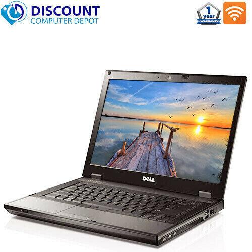 "Laptop Windows - Dell Laptop Latitude 14.1"" Computer PC Core i3 4GB 500GB HD DVD Wifi Windows 10"