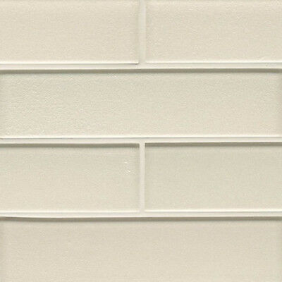 Pearl White Glass Subway Tile For Kitchen Bachsplash Bathroom Wall  (3