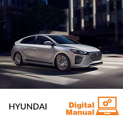 Hyundai   Service And Repair Manual 30 Day Online Access