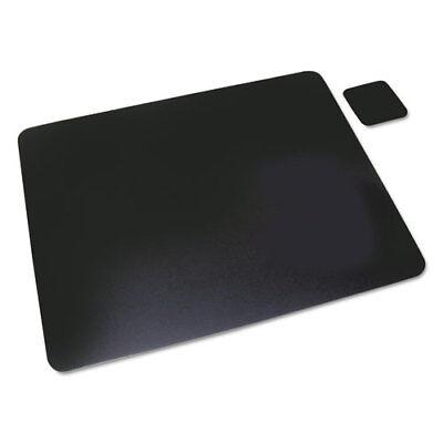Leather Desk Pad Wcoaster 20 X 36 Black