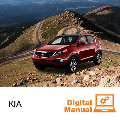 Kia   Service And Repair Manual 30 Day Online Access