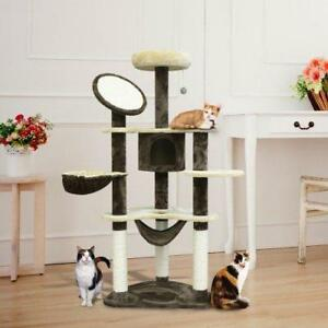 "SALE @  WWW.BETEL.CA || FREE DE || 60"" Cat Tree Condo Activity Centre With Hammock 