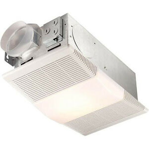 Nutone 665rp Heat Vent Light Bathroom Exhaust Ceiling Fan Vent New Ebay
