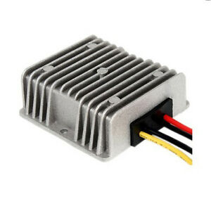 New 120W GOLF CART Voltage Reducer Converter Regulator 48V To 12V 10A
