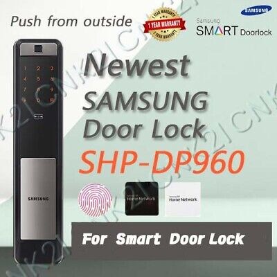 Samsung SHP-DP960 Push Pull Digital Security Door Lock FingerPrint, No bluetooth