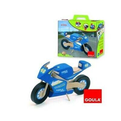 Kit Da Montaggio Playset Goula 56004 Moto in Legno modellino