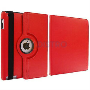 Red PU Leather 360 Rotating Case Cover for Ipad Mini 1 2 3 New Regina Regina Area image 4
