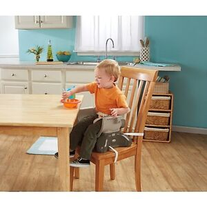 Fisher-Price SpaceSaver High Chair-Teal Tempo Cambridge Kitchener Area image 3