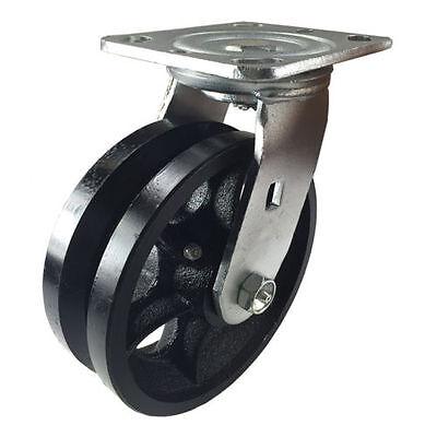 6 X 2 V-groove Caster - Swivel