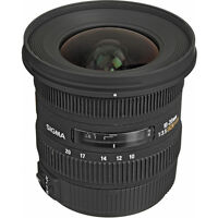 Canon-SIGMA 10-20MM F3.5 EX DC HSM Lens for Canon Mount